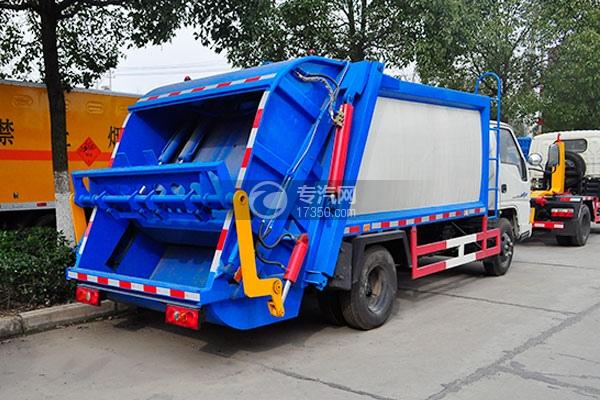 江铃顺达压缩式垃圾车方位图2