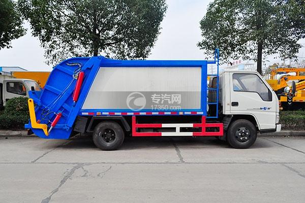 江铃顺达压缩式垃圾车方位图3