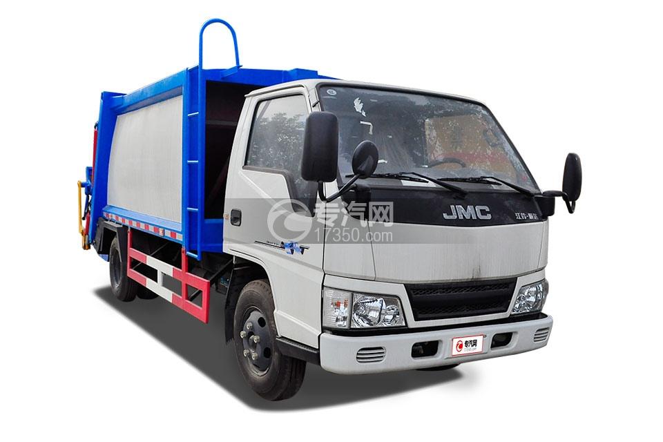 江铃顺达压缩式垃圾车