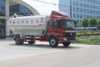 福田欧曼单桥10吨散装饲料运输车