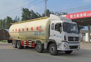 东风天龙前四后八36.76方粉粒物料运输车