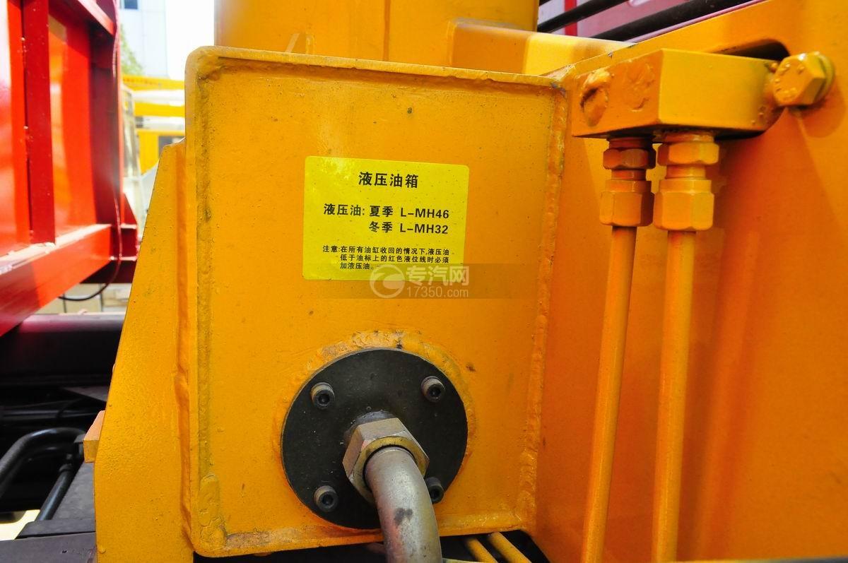 解放J6单桥3.5吨直臂随车吊液压油缸