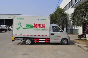 程力新能源電動廂式運輸車圖片