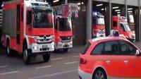消防车车警演示视频