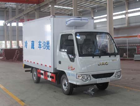 江淮好微3.1米汽油冷藏车