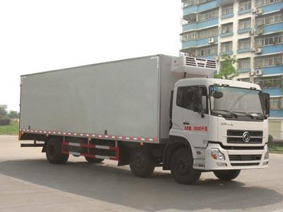东风天龙小三轴9.5米冷藏车