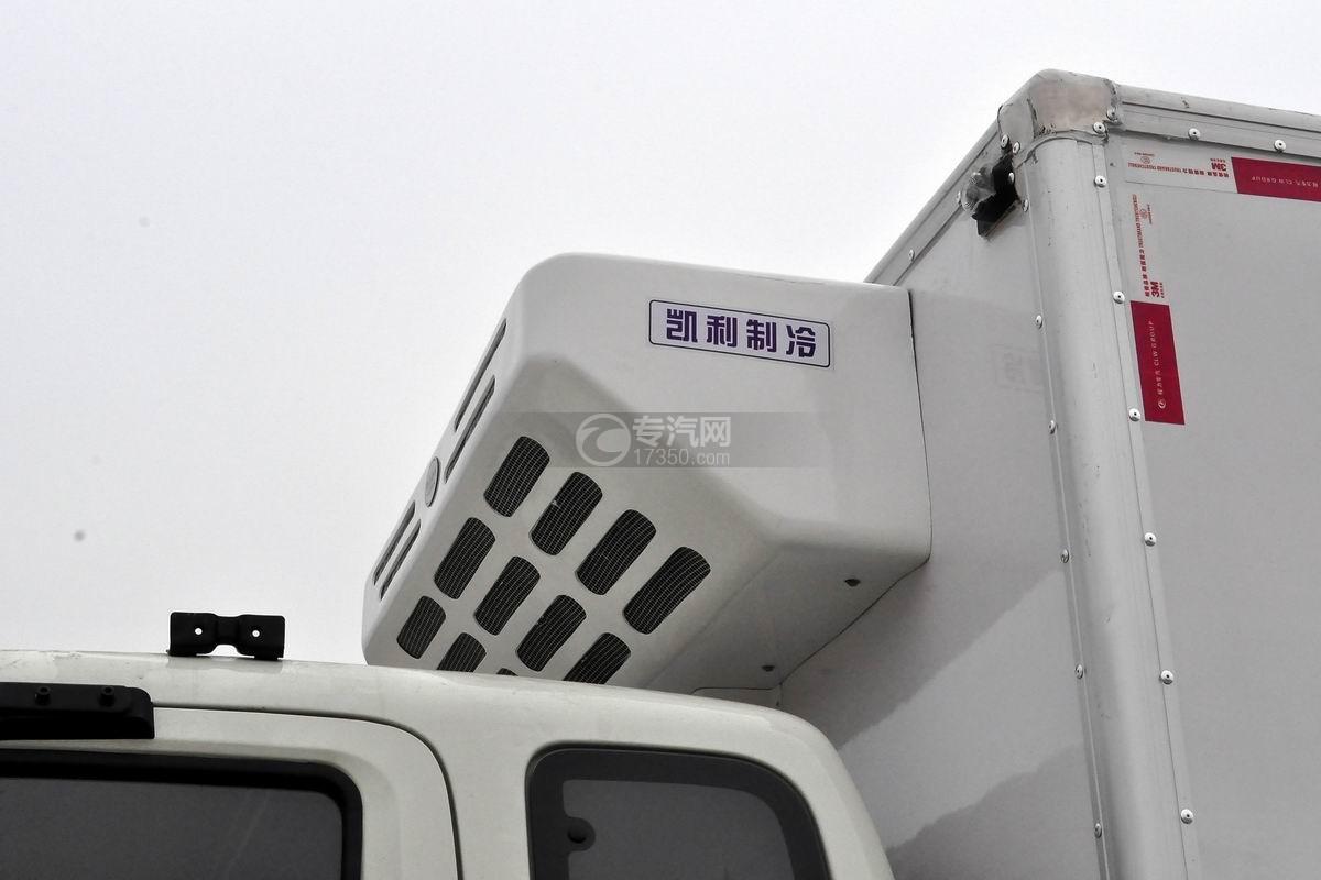 福田奥铃CTX单桥冷藏车冷藏机组