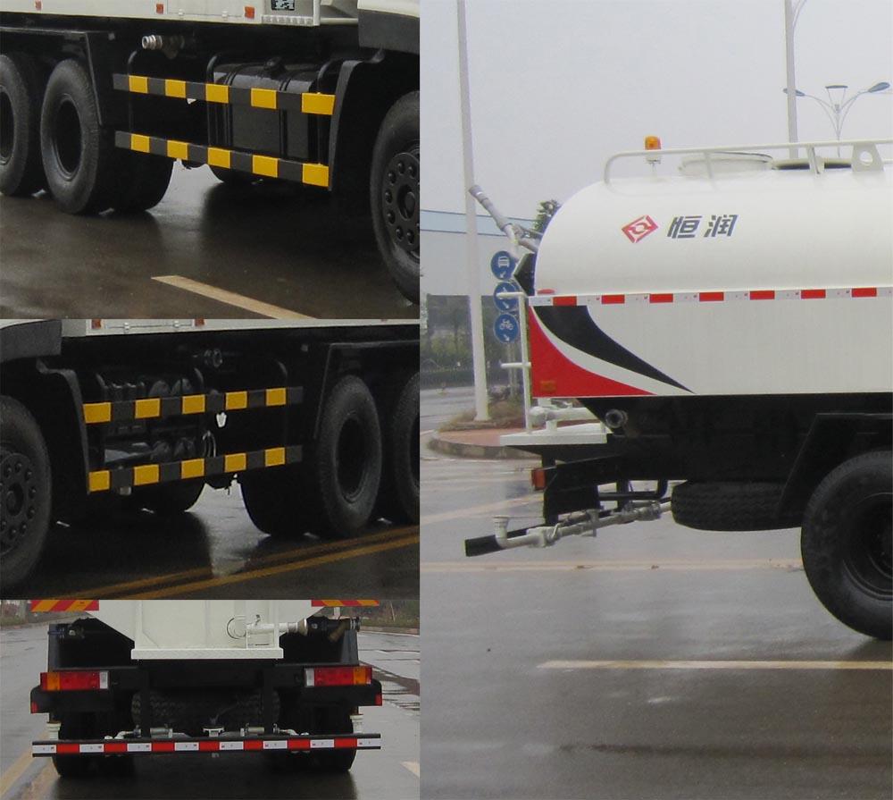 东风天龙后双桥14.24吨国五洒水车细节图