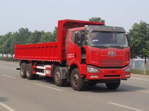 解放J6P前四后八16吨自卸车