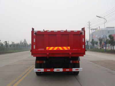 解放J6P后双桥13吨自卸车