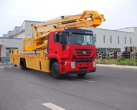 上汽红岩依维柯22-24米高空作业车