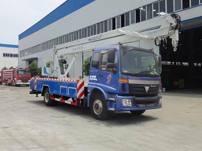 福田欧曼国四20-22米高空作业车