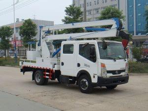 东风日产双排座12-14米高空作业车