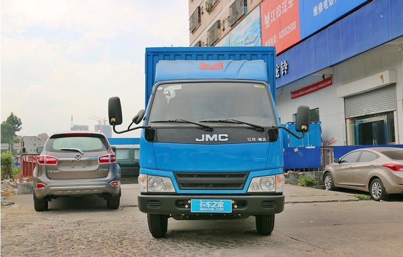 江鈴新順達109馬力4.22米單排廂式運輸車
