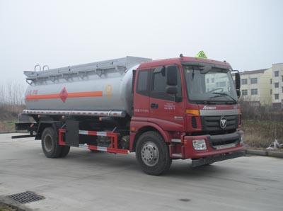 福田欧曼11.5方易燃液体罐体运输车