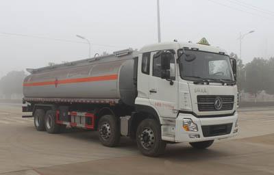 东风天龙前四后八20.7方易燃液体罐式运输车