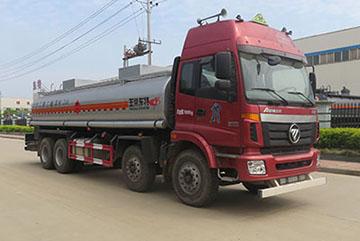 福田欧曼前四后八21方易燃液体罐式运输车