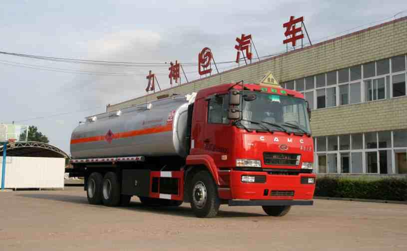 华菱之星后双桥19.6方易燃液体罐式运输车