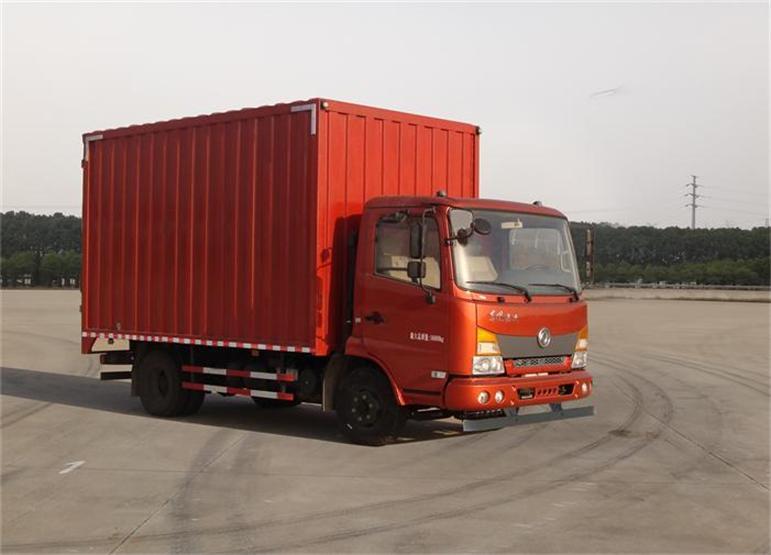 东风嘉运单排179马力厢式运输车