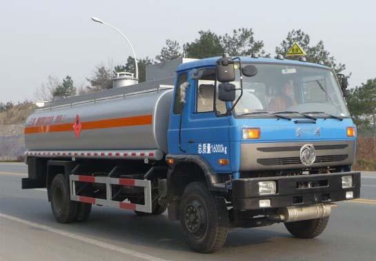 东风145型15方易燃液体罐式运输车