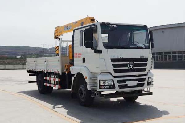 陕汽德龙新M3000单桥6.3吨徐工直臂式随车吊