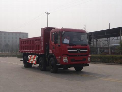 陕汽轩德小三轴210马力国五自卸车