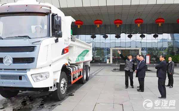 三一重工国五渣土车将成为长沙市样本