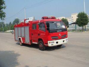 东风多利卡单桥国五水罐消防车