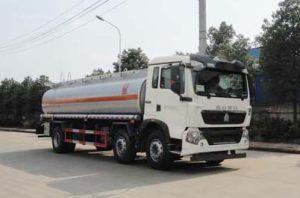 重汽豪沃T5G小三軸17.6方國五運油車