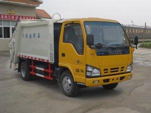 慶鈴五十鈴600P壓縮式垃圾車