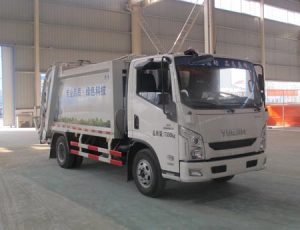 南京躍進壓縮式垃圾車