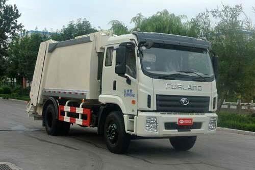 福田康瑞H5单桥压缩式垃圾车