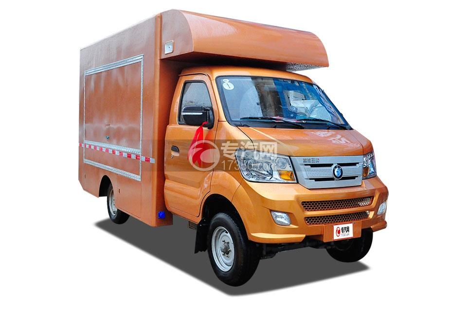 重汽王牌W1国五汽油流动售货车