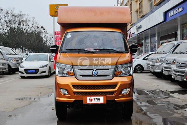 重汽王牌W1国五汽油流动售货车前面