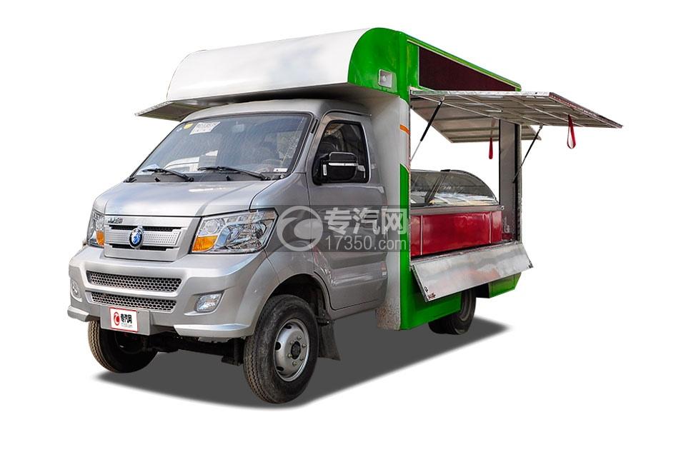 重汽王牌W1柴油流动售货车