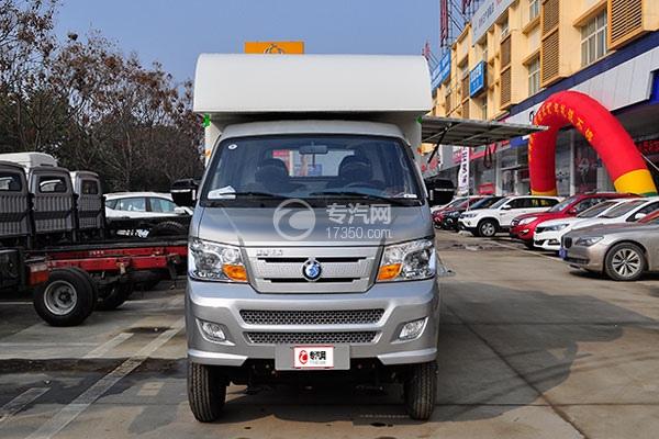 重汽王牌W1柴油流動售貨車前面