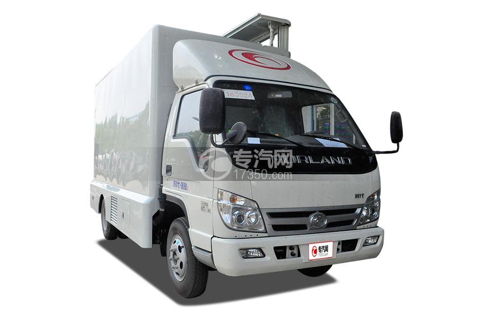 福田时代领航1LED广告车