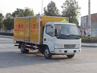 东风145单桥国五易燃液体厢式运输车