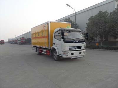 东风多利卡易燃气体厢式运输车