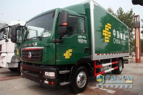 中国重汽邮政用车