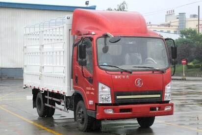 陕汽轩德9系单桥仓栅式运输车