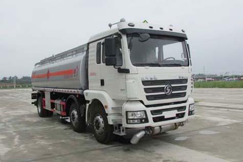 陕汽德龙新M3000小三轴国五20.4方运油车
