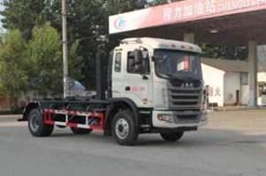 江淮格爾發單橋勾臂式垃圾車