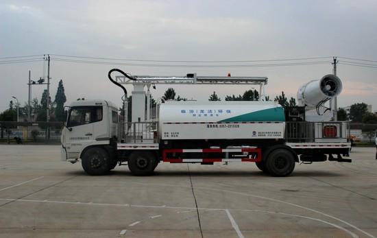 湖北润力集团生产的多功能抑尘车