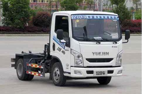 南京跃进勾臂式垃圾车