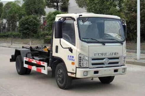福田时代康瑞H1勾臂式垃圾车