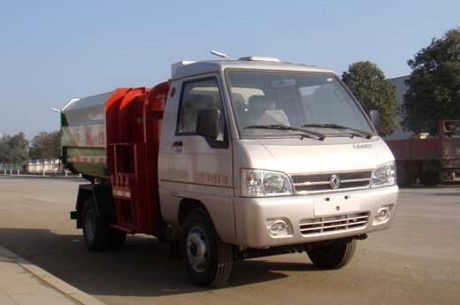 东风凯马挂桶式垃圾车