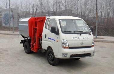 福田时代宝瑞KQ1挂桶式垃圾车