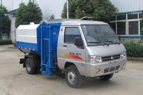 凯马锐菱挂桶式垃圾车