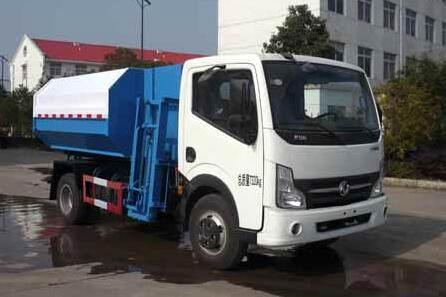 东风凯普特挂桶式垃圾车